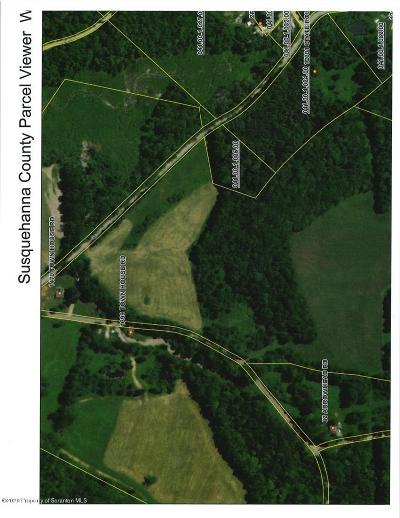 Susquehanna County Residential Lots & Land For Sale: Pa-858