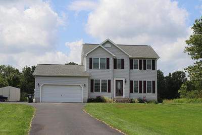 Lackawanna County Single Family Home For Sale: 2390 Quicktown Road
