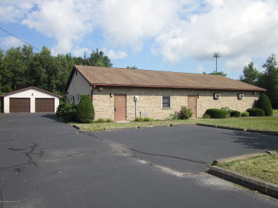 Lackawanna County Commercial For Sale: 835 Enterprise St