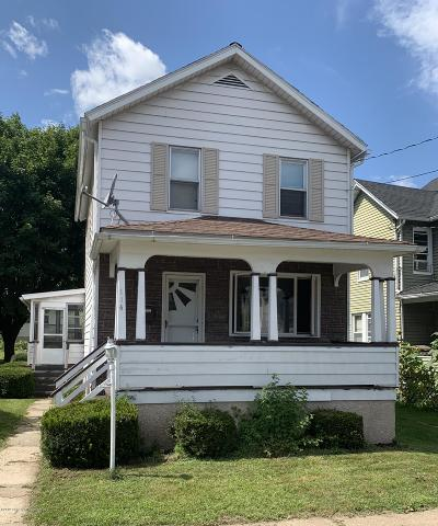 Lackawanna County Single Family Home For Sale: 114 Storrs St