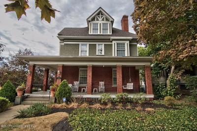 Scranton Single Family Home For Sale: 801 Clay Ave