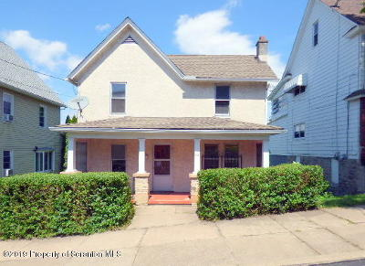 Lackawanna County Single Family Home For Sale: 431 Ripple St