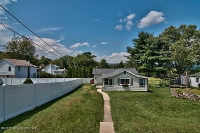 Lackawanna County Single Family Home For Sale: 134 Arnold Ave