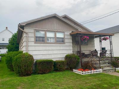 Lackawanna County Single Family Home For Sale: 813 Lincoln St