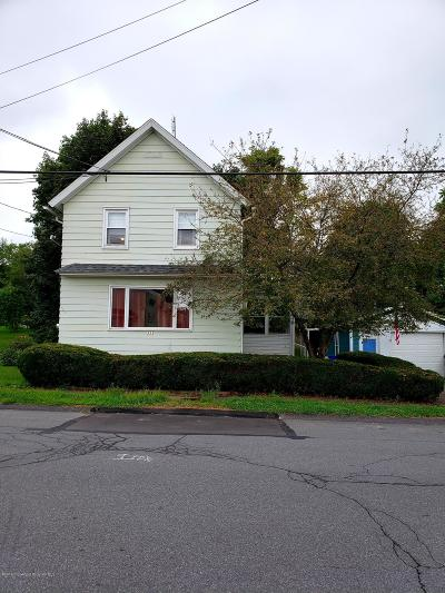 Lackawanna County Single Family Home For Sale: 223 George St