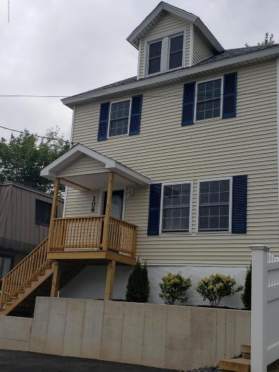 Lackawanna County Single Family Home For Sale: 108 Gravity St