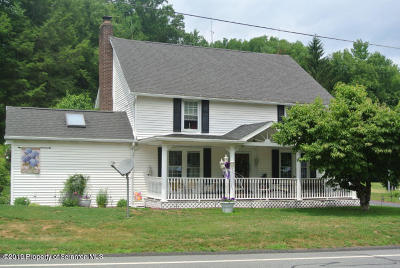Luzerne County Single Family Home For Sale: 2432 State Route 92