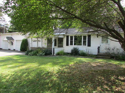 Wyoming County Single Family Home For Sale: 2533 State Route 29 S