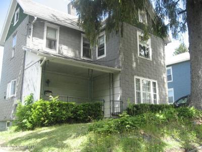 Susquehanna County Single Family Home For Sale: 81 Oak Street