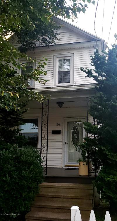 Luzerne County Single Family Home For Sale: 54 Plymouth Ave
