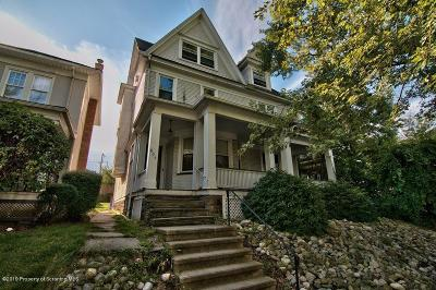 Scranton Multi Family Home For Sale: 804 N Webster Ave