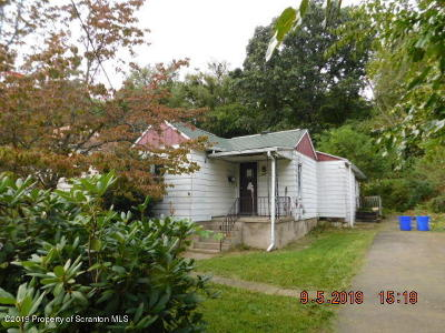 Luzerne County Single Family Home For Sale: 1245 Shoemaker Ave