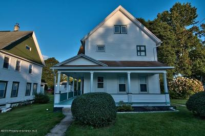 Lackawanna County Single Family Home For Sale: 542 Madison Ave