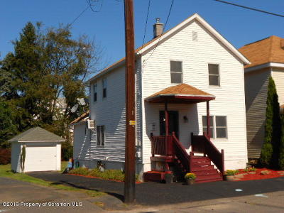 Lackawanna County Single Family Home For Sale: 516 1st Ave