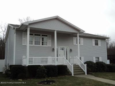 Lackawanna County Single Family Home For Sale: 703 Adele Dr