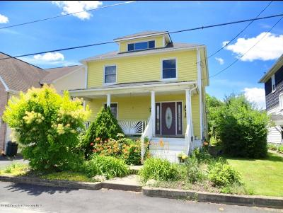 Luzerne County Single Family Home For Sale: 552 Green