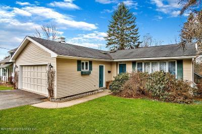 Clarks Summit Single Family Home For Sale: 427 Clark Ave