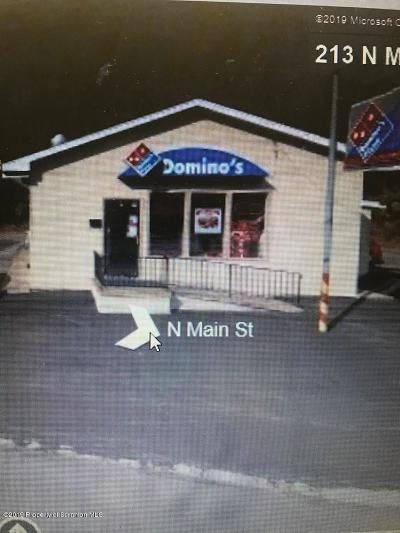 Lackawanna County Commercial For Sale: 213 N Main St