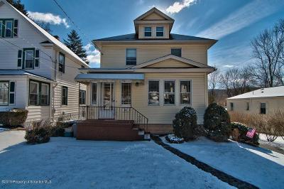 Clarks Summit Single Family Home For Sale: 116 Lansdowne Ave