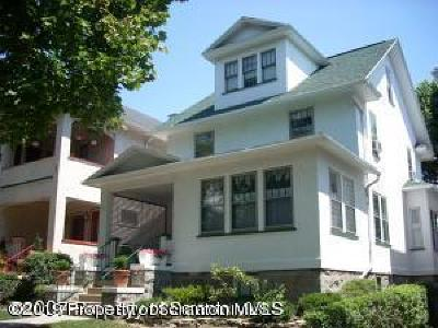 Scranton Single Family Home For Sale: 540 Colfax Ave