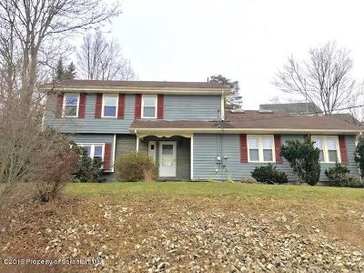 Lackawanna County Single Family Home For Sale: 900 Violet Terrace