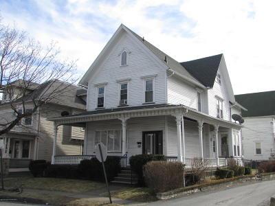 Lackawanna County Single Family Home For Sale: 1115 Washburn St
