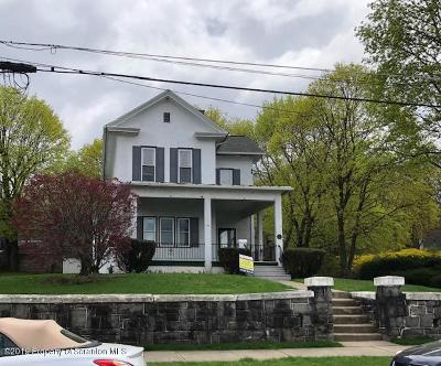 Lackawanna County Single Family Home For Sale: 1222 Clay Ave