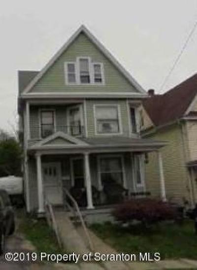 Lackawanna County Single Family Home For Auction: 1632 Penn Ave