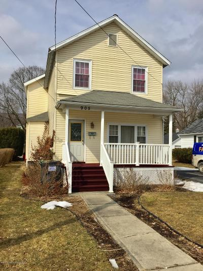 Lackawanna County Single Family Home For Sale: 905 Hill St
