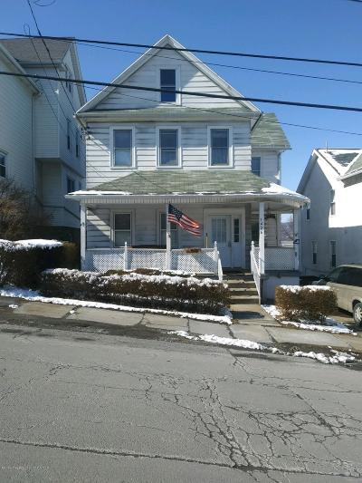 Lackawanna County Single Family Home For Sale: 1426 S Webster Ave