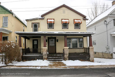 Lackawanna County Single Family Home For Sale: 1005 Acker Ave