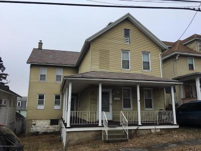 Lackawanna County Single Family Home For Sale: 926 Crown Ave