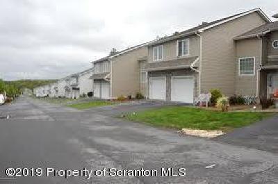 Lackawanna County Condo/Townhouse For Sale: 652 S Keyser Ave