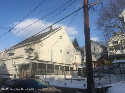 Lackawanna County Multi Family Home For Sale: 21 - 23 Rock St