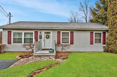 Lackawanna County Single Family Home For Sale: 403 Hemlock St