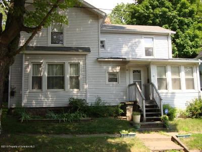 Meshoppen Single Family Home For Sale: 120 West Ave