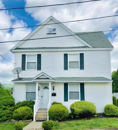 Lackawanna County Single Family Home For Sale: 311 Pendel St