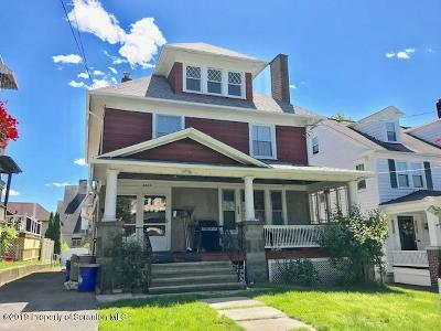 Lackawanna County Single Family Home For Sale: 1020 Grandview St