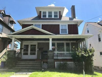 Lackawanna County Multi Family Home For Sale: 1020 Grandview St