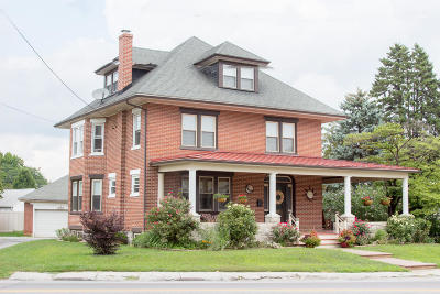 Strasburg Single Family Home For Sale: 213 W Main Street