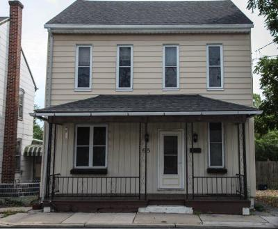 Manheim Multi Family Home For Sale: 165 N Main Street