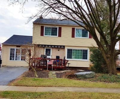 Lancaster Single Family Home For Sale: 1642 Glenn Road