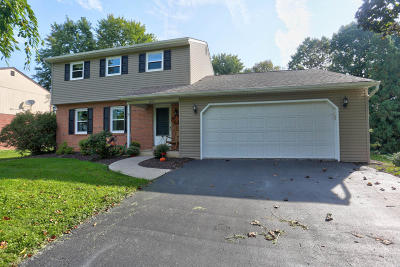 Landisville Single Family Home For Sale: 1527 Duffland Drive