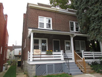 Lancaster Single Family Home For Sale: 838 George Street
