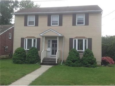 Lehigh County Single Family Home Available: 18 East Montgomery Street