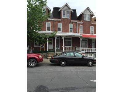 Allentown City Single Family Home Available: 814 North 8th Street