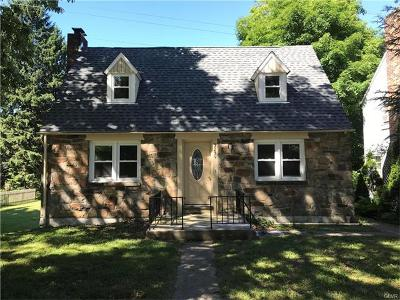 Northampton County Single Family Home Available: 3239 Center Street