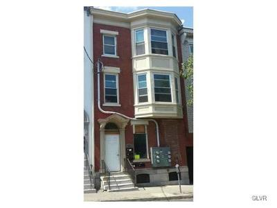 Allentown City Multi Family Home Available: 533 West Turner Street