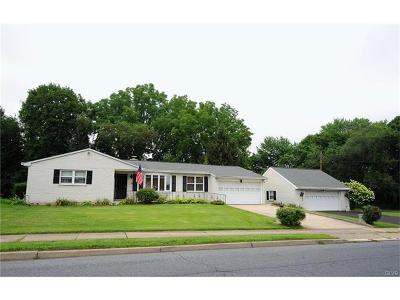 Allentown City Single Family Home Available: 2329 East Columbia Street