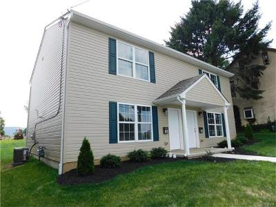 Allentown City Single Family Home Available: 142 West Susquehanna Street